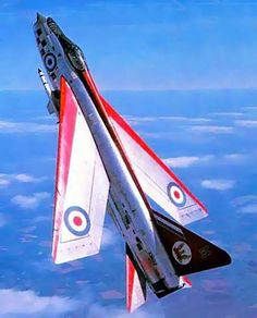 English Electric Lightning - punching holes in the sky! What a climb-rate! A few varied photos that I like Drones, Military Jets, Military Aircraft, Fighter Aircraft, Fighter Jets, Photo Avion, V Force, War Jet, Armada