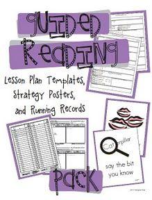 Guided Reading organizational ideas