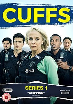 Cuffs: (Left); PC Lino Moretti (Alex Carter). PC Jake Vickers (Jacob Ifan), DS Jo Moffat (Amanda Abbington) (right), PC Ryan Draper (Ashley Walters) and DC Carl