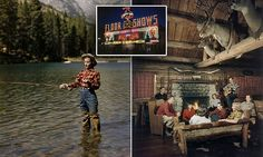 This is what a 'dude ranch' looked like back in 1948 and it is EPIC
