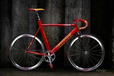 Mario Cipollini's Aero Cannondale Track