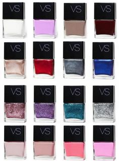 Victoria's Secret nail colors 2013