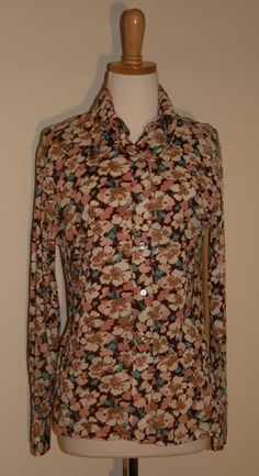 1970's Vintage Silky Blouse by rrrruss |Vintage Duds and Decor