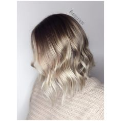 """30 Best Short Ombre Hair Color Inspirations for Trendy Bean Ombre's trend coloring, which came into fashion several seasons ago, beats all records in popularity. From French, """"ombre"""" is translate. Short Hair Ombre Brown, Blond Ombre, Short Hair With Bangs, Short Hair Cuts, Short Hair Styles, Ombre Bob, Brown Hair, Messy Bob Hairstyles, Trendy Hairstyles"""