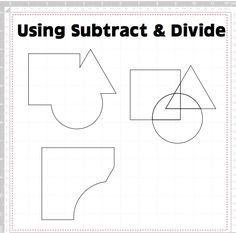 ScanNCut Canvas – Subtract & Divide | aandhcrafts