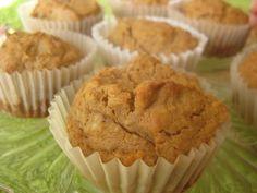 Almás-sütőtökös muffin (gluténmentes, tejmentes, paleo)   Natur Organic Ways To Eat Healthy, Healthy Eating, Healthy Sweets, Muffin, Paleo, November, Organic, Cookies, Breakfast