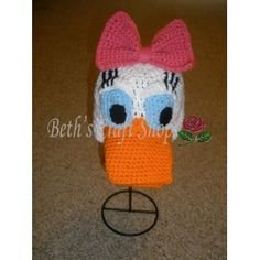 Disney - Daisy Duck Crochet Hat