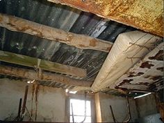 Usually a roof leak will be noticed from inside of the home when ...