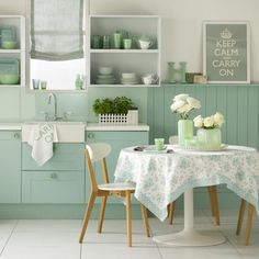 Retro style kitchen-diner | Kitchen-diner design ideas | housetohome.co.uk