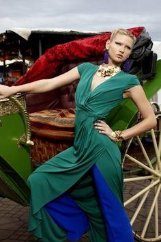 America's Next Top Model Cycle 16 Outdoor Market Photoshoot - americas-next-top-model Photo