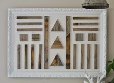 A couple months ago I found a really great frame at the thrift storethat had a piece of thin plywood attached to the back. The frame was a...