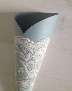 Paper Cones Wedding Rustic Wedding Pew Decoration by AlMercatino