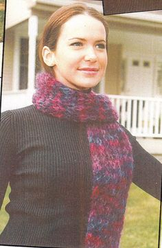 Mohair Scarf Knitting Patterns  Knitted by SimplyCraftSupplies