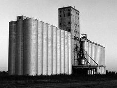 Grain elevator, Enid, Oklahoma