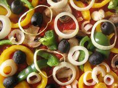 Pizza vegetariana :: recetas veganas recetas vegetarianas :: Vegetarianismo.net