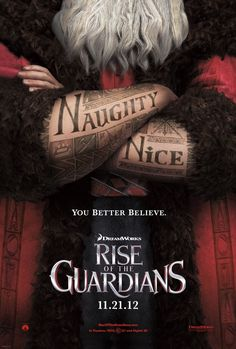 Extra Large Movie Poster Image for Rise of the Guardians