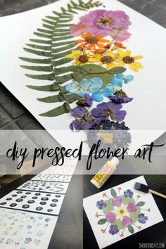 Pressing Flowers & Dried Flower Art - Try Something New Every Month