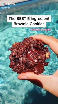 Healthy Sweets, Healthy Dessert Recipes, Healthy Baking, Vegan Desserts, Healthy Snacks, Tasty Videos, Food Videos, Healthy Recipe Videos, Fun Baking Recipes