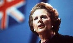 """Margaret Thatcher - 'The Iron Lady'  """"Where there is discord, may we bring harmony. Where there is error, may we bring truth. Where there is doubt, may we bring faith. And where there is despair, may we bring hope."""""""