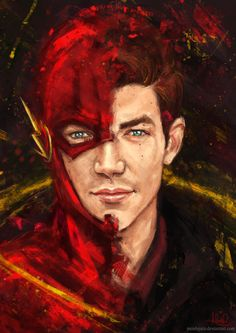 The Flash- he's so cool and so is this picture