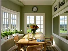 Dining Room Olive Green Kitchen Walls