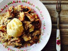 Loredana Sandu...retete pentru toate gusturile: Clatite cu ciocolata,nuca si inghetata de vanilie