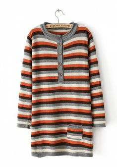 Cotton Blends Round Neck Long Sleeve Patchwork Tops