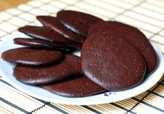 Low carb chocolate flourless biscuits