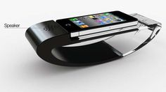 Self-Rising Smartphone Stands - The Stander iPhone Dock is a Rocking Phone Cradle (GALLERY)