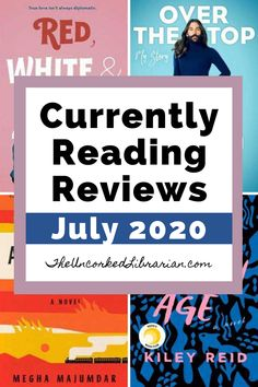 What books are we currently reading this July 2020?  Discover a July reading list filled with book reviews for popular novels like Such A Fun Age, A Burning, Red, White Book Club Books, Book Lists, Great Books To Read, Read Books, Books By Black Authors, International Books, Motivational Books, What Book, Science Books
