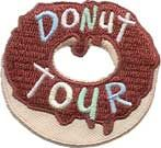 Donut Tour patch - free shipping