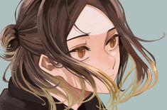 Kenma Kozume, Kuroken, Haikyuu Fanart, Haikyuu Anime, Cute Anime Wallpaper, Cute Anime Boy, Fan Art, Manga, Hair