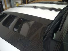 The front hood of the #Chevy Camaro made from the #carbon fiber.  www.brebeckcomposite.com