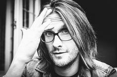 Steven Wilson, 50th birthday portrait taken by Lasse Hoile.