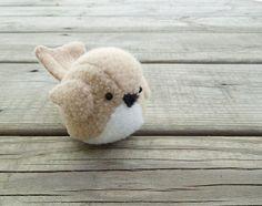 Too cute <3 Teeny Bird | 20 Adorable Handmade Stuffed Animals You Need To Hug Right Now