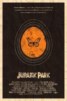 Jurassic Park 24x36 Movie Poster. $45.00, via Etsy.
