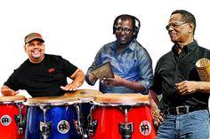 Oscar & Rey Cruz, Ricky Sanchez y Bush en la Feria del Libro   A Son De Salsa