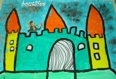 Cà y est, c'est parti pour les rois, reines, couronnes et châteaux en tout genre! A partir de la moyenne section, on peut faire faire un dessin dirigé aux enfants pour dessiner un château. On peut le faire aux feutres , à l'encre ou à la peinture. En...