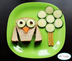 Kids fun food by Jill Dubiens