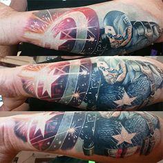 Invictus-Tattoo-Budapest-Berlin-Attila-Teglas-tetovalo-tattooist-artist--America-Kapitany-Captain