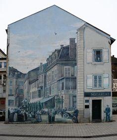 3D muurschilderingen   Graffiti   Muur   Urban   Street Art   Wonen voor Mannen