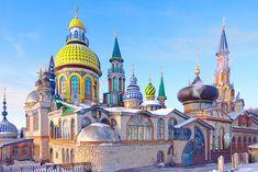 El templo de todas las religiones en Kazán. Fuente: Wikipedia.org