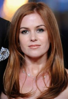 Isla Fisher Hairstyles - Sexy Fire Red Locks