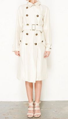 Marc Jacobs Ivory Coat
