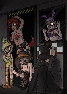 nights anime comic at Five