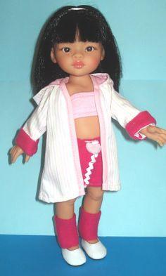 Muñeca Liu de Paola Reina vestida de verano
