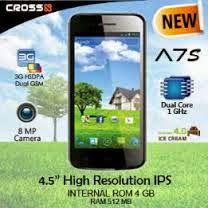 Smartphone Cross a7s Harga Murah Fitur OKE