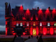 #Finistere #Bretagne et...: Noël à Trévarez #2 : au château, dehors et dedans (10 photos) © Paul Kerrien  http://toilapol.net