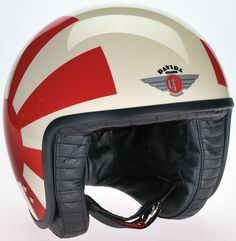 Casque jet Davida 8 Rays over Cream