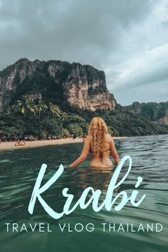 This is how we spent the first two days in Krabi. The first day we relaxed on Ao Nang beach, we focused on self-care and spent all day at the beach. Travel Vlog, Travel Videos, Asia Travel, Solo Travel, Travel Info, Places To Travel, Travel Destinations, Thailand Destinations, Ao Nang Beach